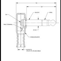 Switchcraft 228 mono Right Angle Plug
