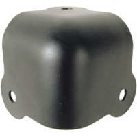 3 hole amp corners black