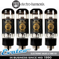 Matched Quad 6CA7 Electro Harmonix Power Tubes