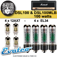 Electro Harmonix Marshall DSL 100, DSL 100MLB 100Watt Retube Kit
