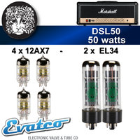 Electro Harmonix Marshall DSL50 50Watt Retube Kit