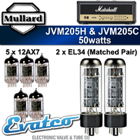 Mullard Marshall JVM205H & JVM205C 50Watt Retube Kit