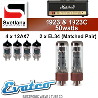 Svetlana Marshall 1923 & 1923C 50Watt Retube Kit