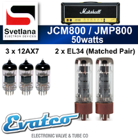 Svetlana Marshall JMP / JCM800 50Watt Retube Kit