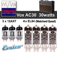 Tung-Sol Vox AC30 Retube Set