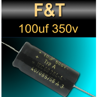 F&T 100uf 350v Capacitors