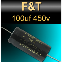 F&T 100uf 450v Capacitors