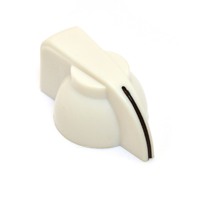 Chicken Head Knob White