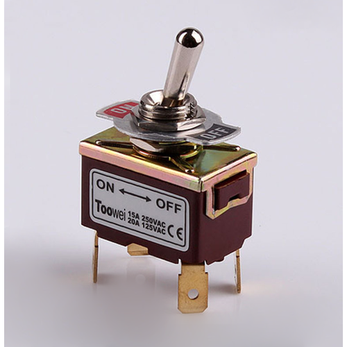 DPST 2 position 4 pin Toggle Switch