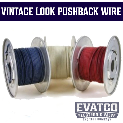 Vintage Cloth Pushback Wire